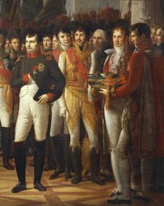 Napoleone e i deputati del Senato, Berlino