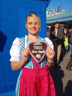 Das #Yorxs #Herz kam gut bei den Wiesn-Besucherinnen an.