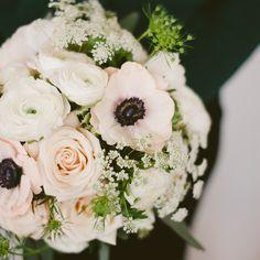 Sahara roses, anemones, and ranuculas