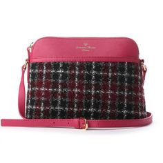 806949941c07 Samantha Thavasa サマンサタバサデラックス ツイードショルダーバッグ(ピンク) -靴とファッションの