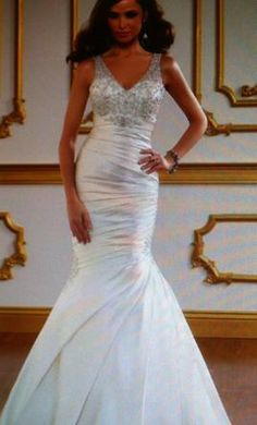Mori Lee: buy this dress for a fraction of the salon price on PreOwnedWeddingDresses.com