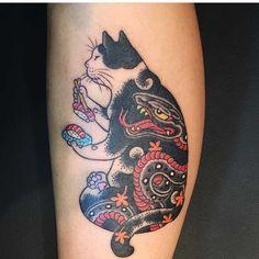 Les chats tatoués de Kazuaki Horitomo (image)
