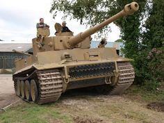 Tiger 131 is the world's only operational running Tiger 1 in near original condition. The original Maybach engine was replaced with the later version