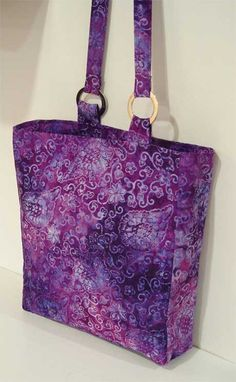 Free Bag Pattern and Tutorial - S2 Bag