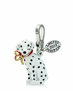 Juicy Couture Limited Edition Dalmatian Charm. Love this darling charm! Perfect for adding a little Christmas touch to a silver Juicy bracelet!
