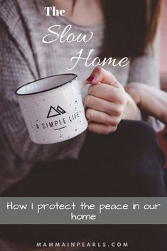 Feb 10, 2019 - Slowing my home is a constant battle. There are a million and one activities we could choose to do but are they worth giving up our time being unbusy?