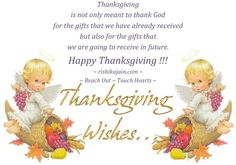 Thanksgiving Wishes   Inspirational Quotes - Pictures - Motivational Thoughts   Reaching Out & Touching Hearts