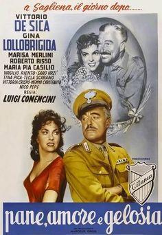 Pane Amore e Gelosia 1954 di Luigi Comencini.  Italian film class