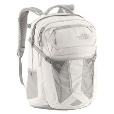 6. North Face Backpack Vaporous Metallic