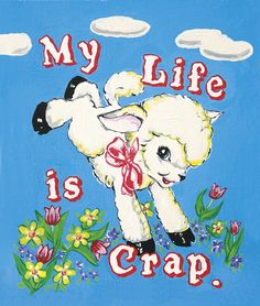 My Life Is Crap - 2 (Silkscreen Signed Limited Edition of by Magda Archer Bedroom Wall Collage, Photo Wall Collage, Picture Wall, Collage Art, Poster S, Poster Wall, Poster Quotes, Poster Prints, Kawai Japan