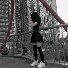 Gothic Outfits, Edgy Outfits, Mode Outfits, Grunge Outfits, Cute Casual Outfits, Girl Outfits, Fashion Outfits, Fashion Ideas, Mode Ulzzang