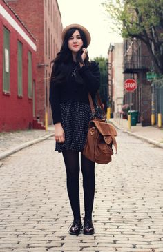 Perfect fall layering from Flashes of Style