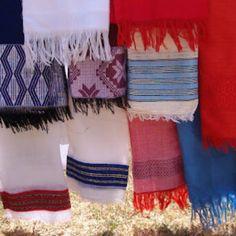 Ethiopian textiles. Photo by Amira Weller.