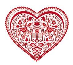 Dala Love by Pol Kip, via Behance