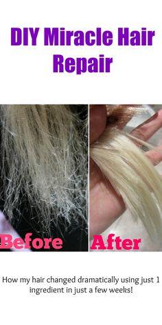 diy miracle hair repair