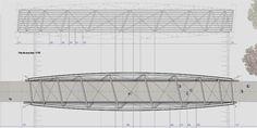 Andreas Schnubel / Structural Design / Footbridge over RER tracks