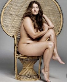 Beautiful ! Totally wrong for the idea of what beauty is in our society ... personally I think she is stunning !!