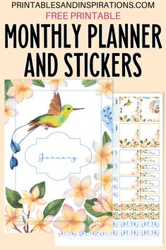 Monthly Planner Template, Free Planner, Planner Pages, Happy Planner, Schedule Templates, Budget Planner, Planner Ideas, Floral Printables, Free Printables