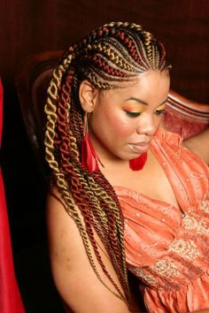 Extentions #Braiding #Pattern #African