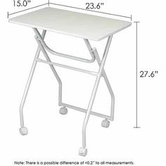 Furinno 11044 Easi Folding Multipurpose Personal TV Tray Table - Walmart.com