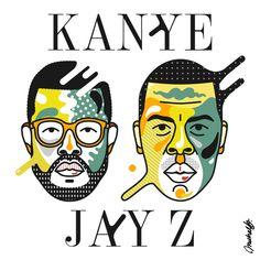 Jay & Ye in Weird inspiration