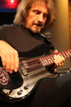 Geezer Butler of Black Sabbath Geezer Butler, Famous Musicians, Ozzy Osbourne, Black Sabbath, Rock Music, Music Artists, Heavy Metal, Rock And Roll, People