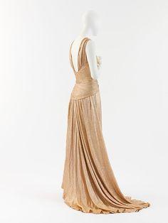 Bette Davis    Coco Chanel evening gown ca. 1934 via The Costume Institute of the Metropolitan Museum of Art