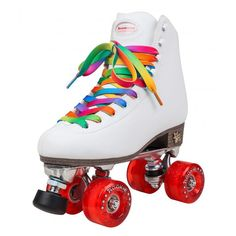 £80 Rookie Classic White Rollerskates