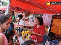 1st edition of the Farmer's Market at Phoenix Marketcity, on 8th March