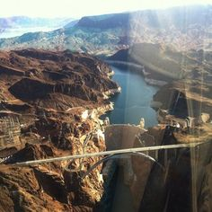 Hoover Dam view from a Maverick Helicopter (April 2012)