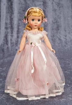 "14"" Maggie-Faced Rose Pink Bridesmaid by Madame Alexander"