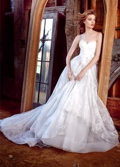Bridal Gowns, Wedding Dresses by Lazaro - Style LZ3552