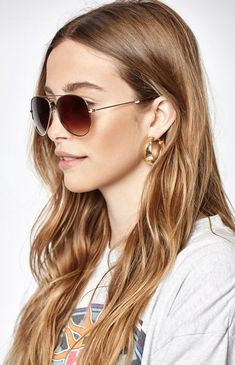 6baff6348a Our very own LA Hearts deliver these sunnies complete with a metal aviator-style  frame