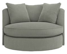 Charmant I Would Love To See What This Looks Like In A Room. Modern Swivel ChairRound  ...