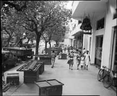 Fotos antigas do Rio de Janeiro - Rua Constante Ramos - Anos 50