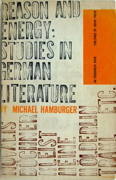 Book cover design by Roy Kuhlman 1957 - let's be honest, anything with bold type and little grunge is always the way to go -