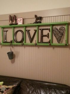 Made from old bunk-bed ladders. Check out my blog for local orders: MyPolkaDotToolbox.blogspot.com