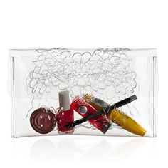 MeDusa Clear Purse Clutch Bag for Makeup by MeDusaBrand on Etsy, $49.00