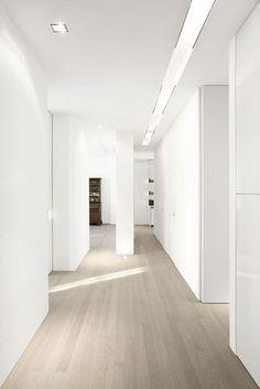 Grey Washed Maple Hardwood Floors