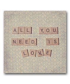 """All you need is love"" #lovequotes"