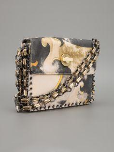 Emilio Pucci Vintage Small Printed Shoulder Bag - A.n.g.e.l.o Vintage - Farfetch.com.br