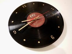NIRVANA Record Clock Nevermind by RecordsAndStuff on Etsy, $28.00