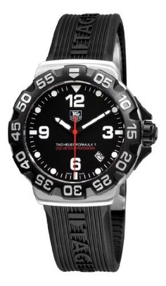 TAG Heuer Men's WAH1110.FT6024 Formula 1 Black Dial Watch TAG Heuer, http://www.amazon.com/dp/B003UX7I3G?tag=bicyclevillage-20