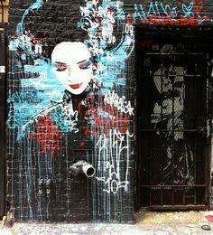 Hush Graffiti @ San Francisco