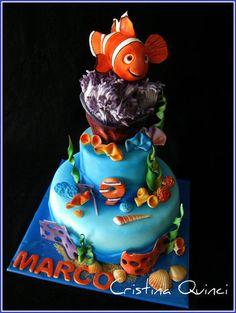 Nemo Cake  Cake by Cristina Quinci