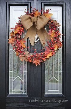Best Ideas To Create Fall Wreaths Diy 115 Handy Inspirations 065