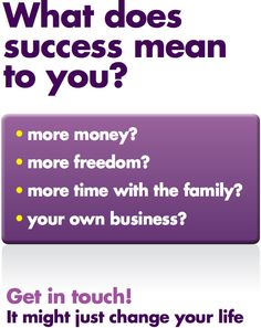 What does success mean to you? The Utility Warehouse offers a business opportunity of a lifetime. #businessopportunity www.businessopportunityplus.co.uk