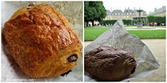 {Day 2} A perfect pain au chocolat from Gérard Mulot enjoyed in the square at Place des Vosges (the oldest planned square in Paris, built by Henry IV). #30daysinParis http://whyroamtravel.com