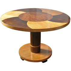 Swedish Art Deco pedestal side table style Axel Einar Hjorth. | From a unique collection of antique and modern side tables at http://www.1stdibs.com/furniture/tables/side-tables/