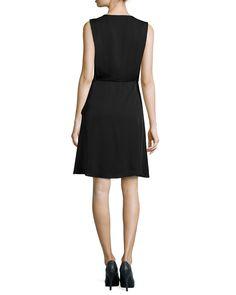 Garner Sleeveless A-Line Dress